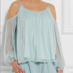 Elizabeth and James Maylin Blouse in Dew